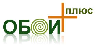 Логотип Обои плюс